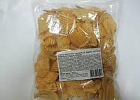 Чіпси 150г+50г зі см. телятини з аджикою (хвилясті) фас. (1/18)