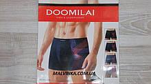 Трусы боксеры мужские арт  02031  XL,2XL,3XL,4XL Doomilai,цвета.