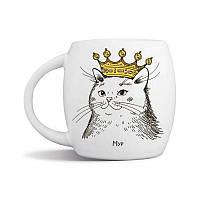 Чашка Orner Кошка в короне, 450 мл (orner-0649)