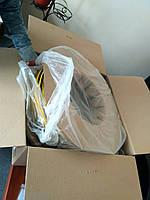 Уплотнитель на липкой сетке или липкой ленте для мелчлических дверей бухты по 120м и по 150