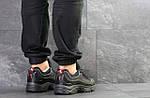 Чоловічі кросівки Reebok Daytona DMX (Чорно-червоні), фото 2