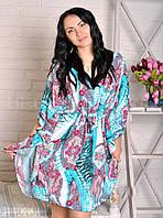 Женское штапельное кимоно, женская одежда для дома