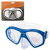 Детская маска для плавания и ныряния от 14 лет, INTEX, 55977
