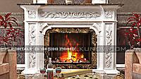 Декоративный каминный портал из Гипса - Primo Gesso