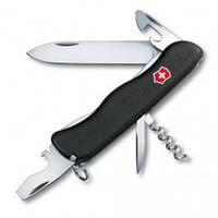 Нож  однорукий черный/красный нейлон FORESTER Victorinox (0.8361.MWС)