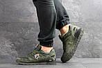 Мужские кроссовки Fila (темно-зеленые), фото 3