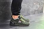 Мужские кроссовки Fila (темно-зеленые), фото 4