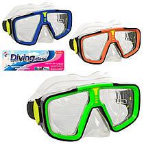 Дитяча маска для плавання і пірнання 17х8 см, 6506