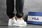 Мужские кроссовки Fila (Белые), фото 2