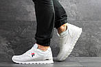 Мужские кроссовки Fila (Белые), фото 6