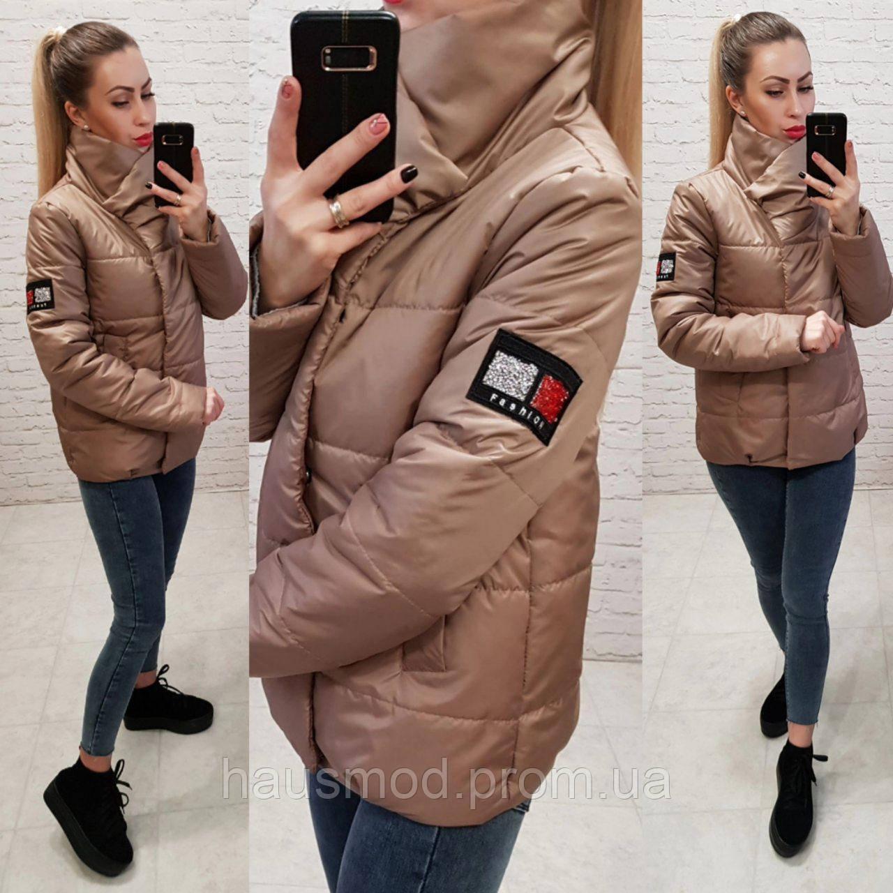 bb535c3e1ed Женская куртка на силиконе весна осень фабричный китай коричневая ...