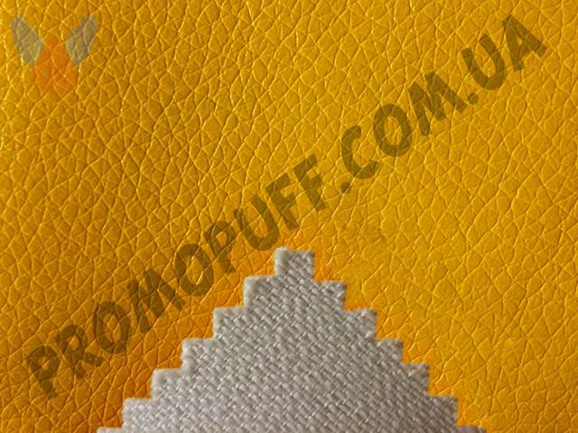 Кресло груша Экокожа желтое. Купить желтое кресло грушу из экокожи в Украине.