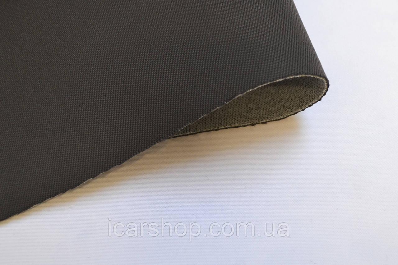 Ткань 133 (1.75м) коричневая / На поролоне 1мм