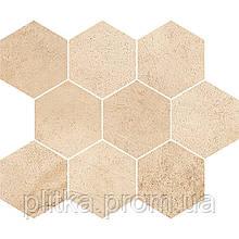 Декор Sahara Desert Mosaic Hexagon Opoczno 280x337 (183003)