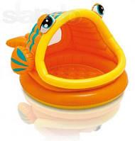 """Надувной детский бассейн """"Рыбка"""" Intex 57109"""