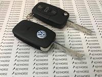 Корпус выкидного авто ключа для VOLKSWAGEN Golf, Passat B5 (Фольксваген Гольф, Пассат Б5) 3 - кнопки