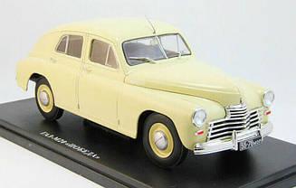 Сборная модель ГАЗ-М20 Победа (ДеАгостини) в масштабе 1:8