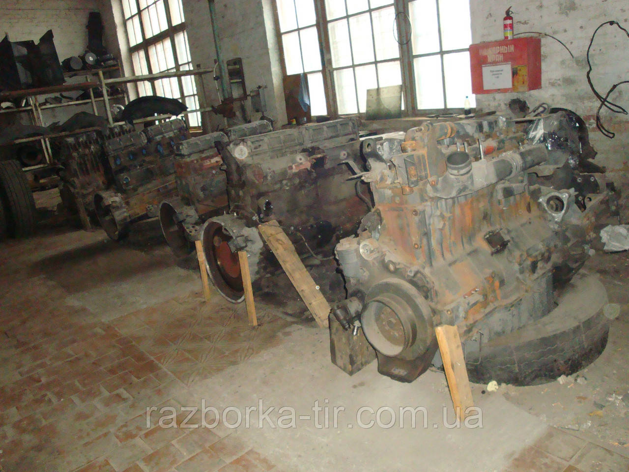 Двигун Renault magnum EURO-2, EURO-3