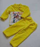 Пижама для девочки Modni Kids 26 (80-86 см) Желтый