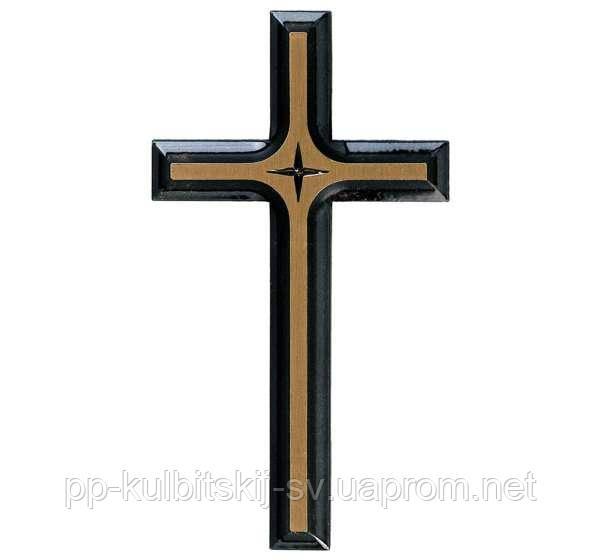 Хрест бронзовий для памятника з гранітуJorda 1914/12