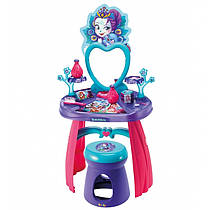 Туалетный детский столик для девочки с аксессуарами и стульчиком Энчантималс Enchantimals Smoby 320229
