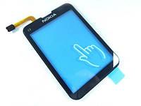 Тачскрин сенсор для Nokia C3-01 / C3-02 / C3-03 черный High Copy