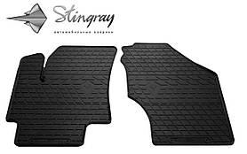 Передние резиновые коврики Rio II 2005-2011 (2 шт) Stingray 1009212