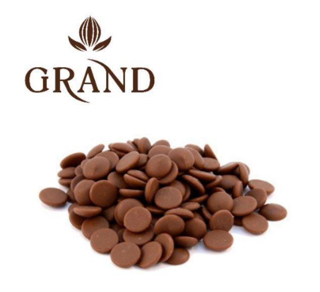 Шоколад молочний 35 % GRAND