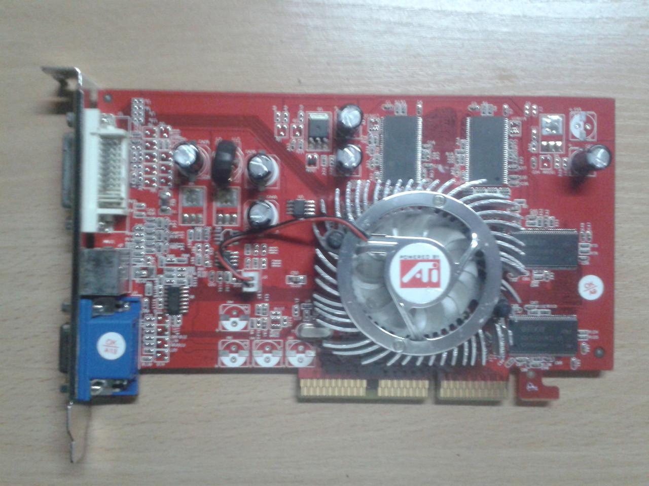 ATI Radeon 9550 / 256MB DDR / AGP 8x / DVI / VGA / TV Out / Video Card