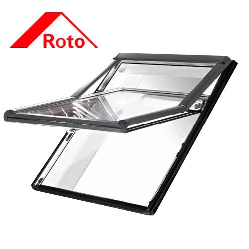 Мансардное окно Roto WDF R79 H N WD Al 7/11 (двухкамерный стеклопакет с Криптоном)