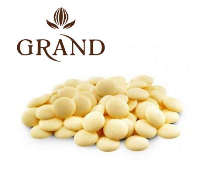 Шоколад білий 29 % GRAND 1 кг, 5 кг