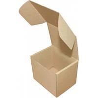 Коробка картонная (114х95х100), бурая
