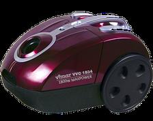 Пылесос Vimar VVC-1834R (1800Вт, 5 уровней фильтрации, металл. тел. труб.)