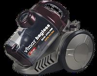 Пылесос Vimar VVC-222 (2200Вт, HEPA-фильтр, объем колбы - 4л, система очистки - Dual Cyclone
