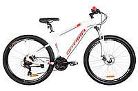 """Горный велосипед OPTIMABIKES AL F-1 HDD AM 27.5""""(бело-красный), фото 1"""