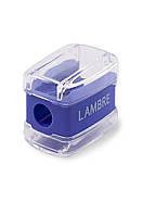 Точилка для косметических карандашей Lambre SHARPENER