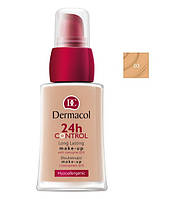 Dermacol 24h Control Make- Up - Тональный крем с коэнзимом Q13, тон 03