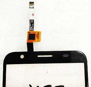 Сенсор (тачскрін) для Doogee X55 чорний, фото 2