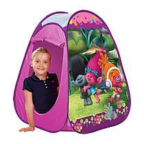 Детская игровая палатка игровой домик Тролли Trolls JohnToys 78144