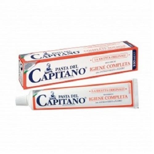 Зубная паста Pasta del Capitano 100 мл La ricetta originale Igiene completa (полная гигиена)