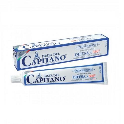Зубная паста Pasta del Capitano 75 мл Prevenzione Difesa a 360 (профилактическая)