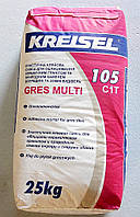 Клей Крайзель 105 Грес Мульти для керамогранита в мешках по 25