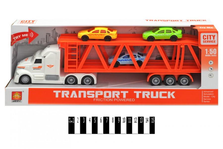 игрушечная машина транспортер