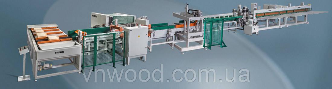 Автоматическая линия продольного сращивания древесины KADIS DFK-2M-A / DPK-3A
