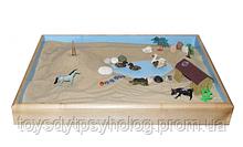 Юнгіанська пісочниця для сухого та кінетичного піску
