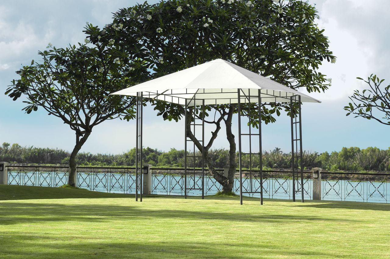 Тканевый павильон (шатер) крыша 3x3м (стальной каркас + влагоотталкивающий), фото 1