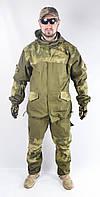 Военный костюм Горка оригинал, вставки A-TACS зеленые