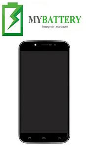 Дисплей (LCD) S-TELL M555 с сенсором чёрный