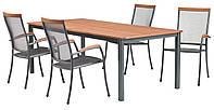 Комплект мебели для сада и дачи (4 кресла + раздвижной стол )