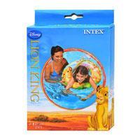 """Детский надувной круг Intex 58259 """"Король лев"""" (61 см)"""